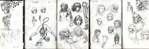 Sketches 7 by Rayvell