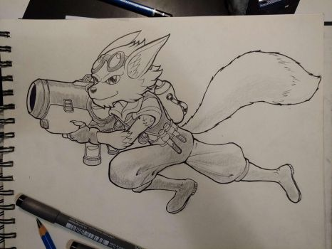 Inktober day #1: Pip! by M-Katar