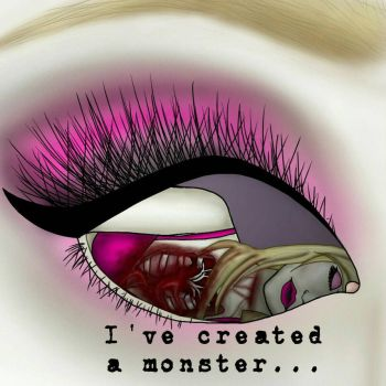 In the eyes of a Monster  by PrettyNPinkGirl