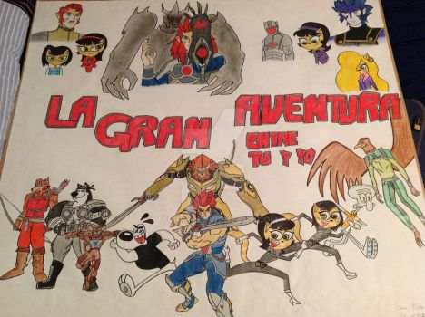 The Great Adventure between you and me poster. by Tfrichy