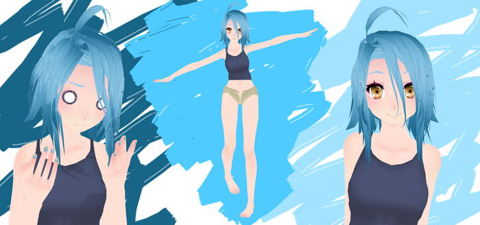 [MMD] Monster Musume - Papi by HetaVocaCore