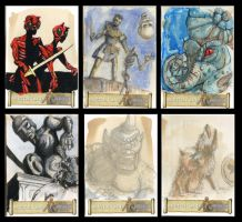 Harryhausen collection part 3 by cowpatface