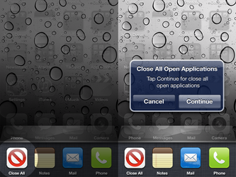 iOS New Feature - Close All by bqra