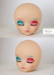 Face up for Pullip by Mikiyochii