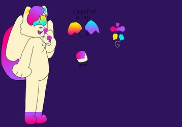 Poffle Ref by patchy-moon