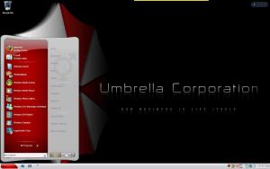 Umbrella corporation Interface by TagsMagilicuty