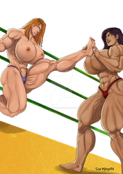 [C] Wrestling Match 08 by roemesquita