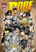 BK : Core Adventures Cover by wansworld