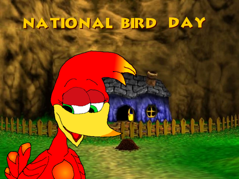 National Bird Day - Kazooie by KawaiiSteffu