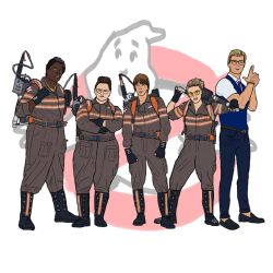 Ghostbusters team (2016) by MartyRossArts