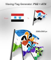 Waving Flag Generator by imonedesign