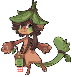 #1153 Bagbean - Green Tree ant - Auction by griffsnuff