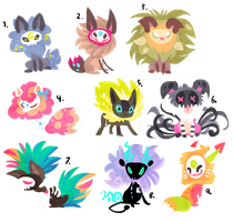 Designs for points SOLD by griffsnuff
