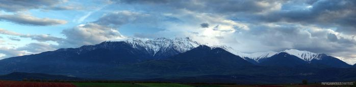 Mt. Olympus by photogrifos