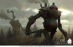 Oz the Great and Powerful - Steambots by michaelkutsche