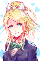 eli is best girl by TheCecile
