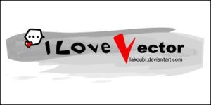 I Love Vector .ID by lakoubi