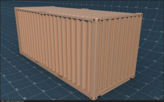Shipping Container by Volatile-Vertex