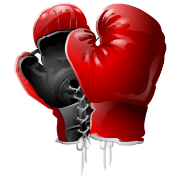 Boxing Gloves PNG by DoloresMinette