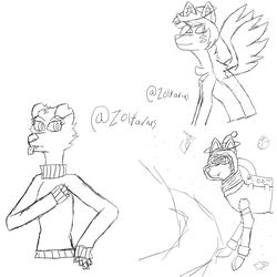 Sketch test request collection by Zolfarius