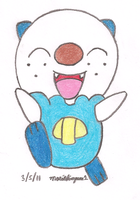Oshawott by MarioSimpson1