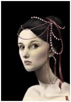 Dripping in Pearls by Reine-Haru