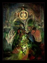 The Ascension of Cedric by graver13