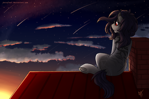 Starfall [finished YCH] by YaruGreat