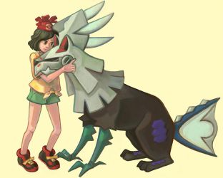 Moon and Silvally by pancakesandhalibut