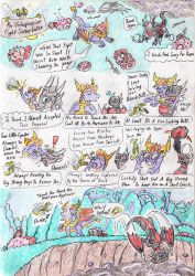 Cynder and the Pugglies, comic page 14. by Grimmyweirdy