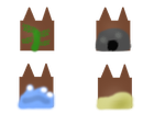 Clans of the Cove symbols by Its-Mousepelt