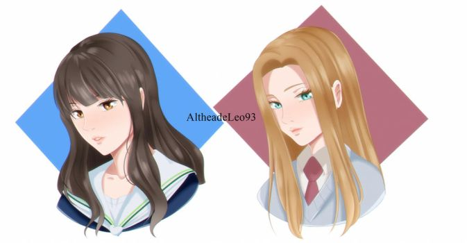 [KnB OC] The new girls by AltheadeLeo93