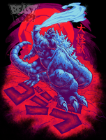 GOJIRA: DAIKAIJU KING final colors by pop-monkey