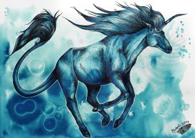 Water Unicorn by Natoli