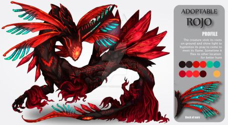 ADOPTABLE Close : ROJO [Auction][paypal] by Ma-Adopt