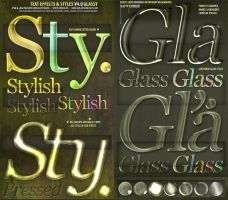 ASL PSD Text Effect Styles by djnick2k