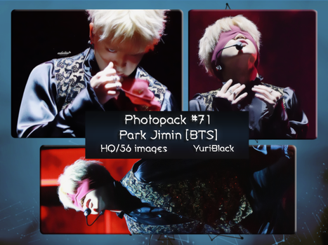Photopack #71 - Park Jimin [of BTS] by YuriBlack