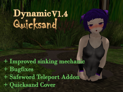 Dynamic Quicksand V1.4 Environment feature / Trap by MrBlackGoo