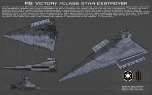 RS Victory I-class star destroyer ortho [New] by unusualsuspex