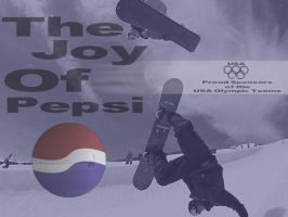 Joy of pepsi by bowl