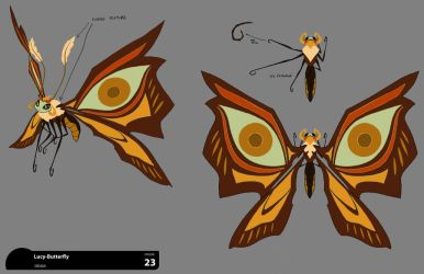 Butterfly Lucy concept by DanNortonArt
