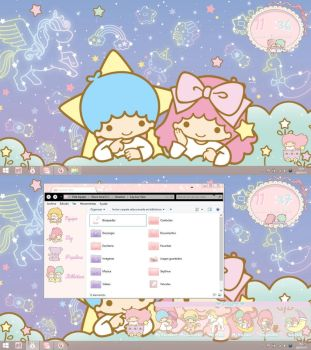 Desktop Windows 8.1 Little Twin Stars by leyfzalley