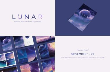 lunar artbook preorder. by sugarmints