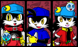 Klonoa In Games by emichaca