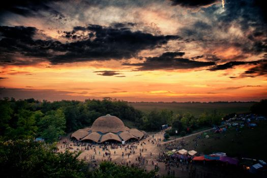 Chill Stage Ozora 2011 HDR by scwl