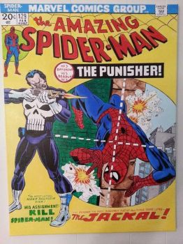 first appearance Punisher by Gr4phik