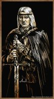 Geralt of Rivia by JustAnoR
