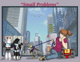 Small Problems Title Page by Ty-Chou