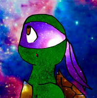 Galaxy Donnie  by KittyCatXernease