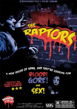 The Raptors B-Movie Poster by OtherCubed
